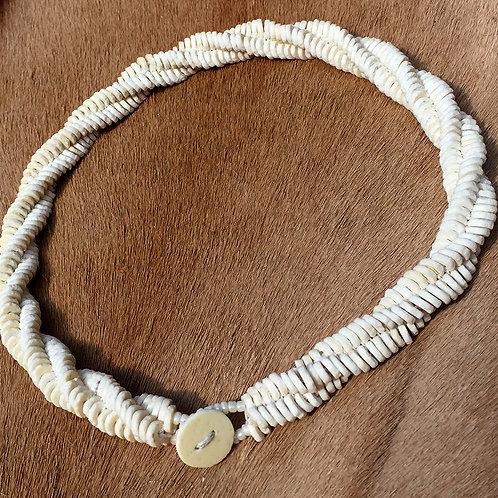 Halsketting Herringbone Ivory Swirl