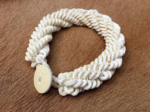 Armband Namibian Roll White