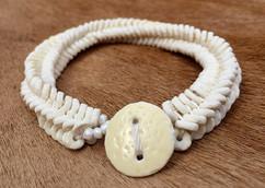 Bracelet Herringbone White