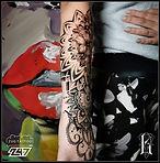 Lea, Fineline Tattoo, Mandala @247zugtattoo
