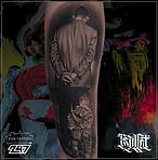 Bullet, B&G Tattoo, Realistic Tattoo @247zugtattoo @drnikolabullet