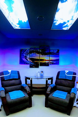 Teeth Whitening Treatment Room at New Wave