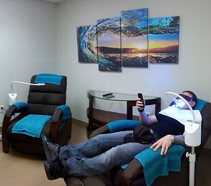 Teeth Whitening room at New Wave's clinic