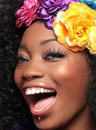 smile-1485850_1920black girl flowers cro