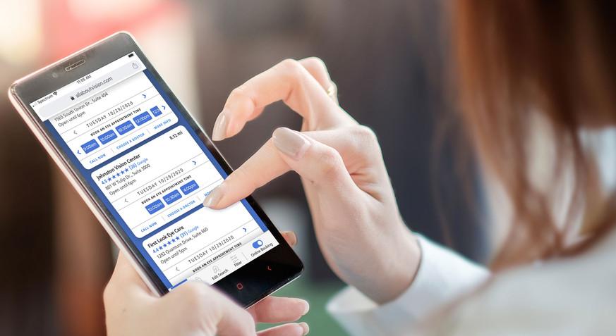 Essilor Booking Platform