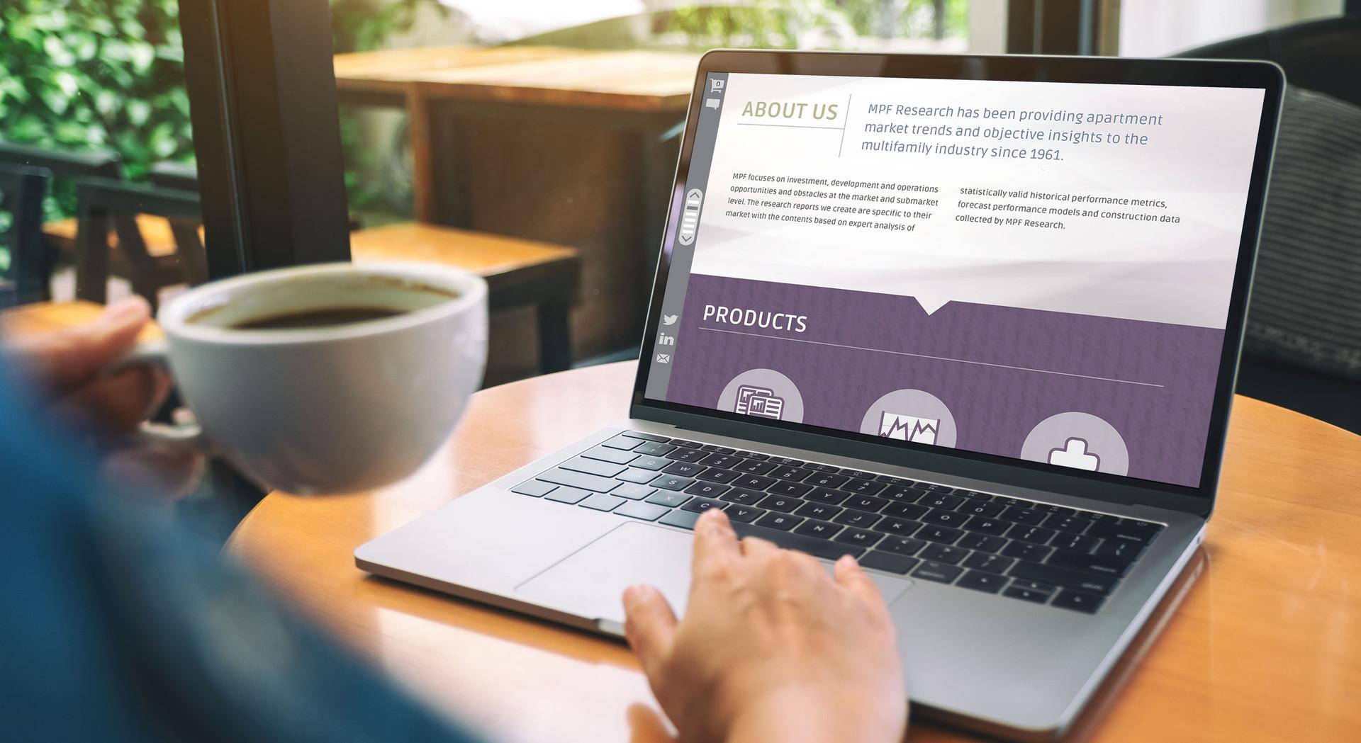MPF Research Financial Website