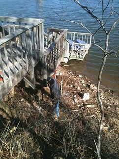 Dock repair Oklahoma & Kansas