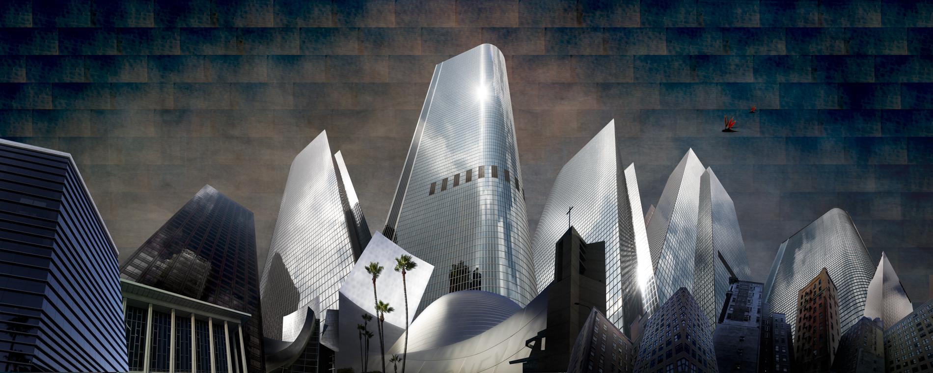 My LA City Skyline_Bruce Burr - 1900x72p