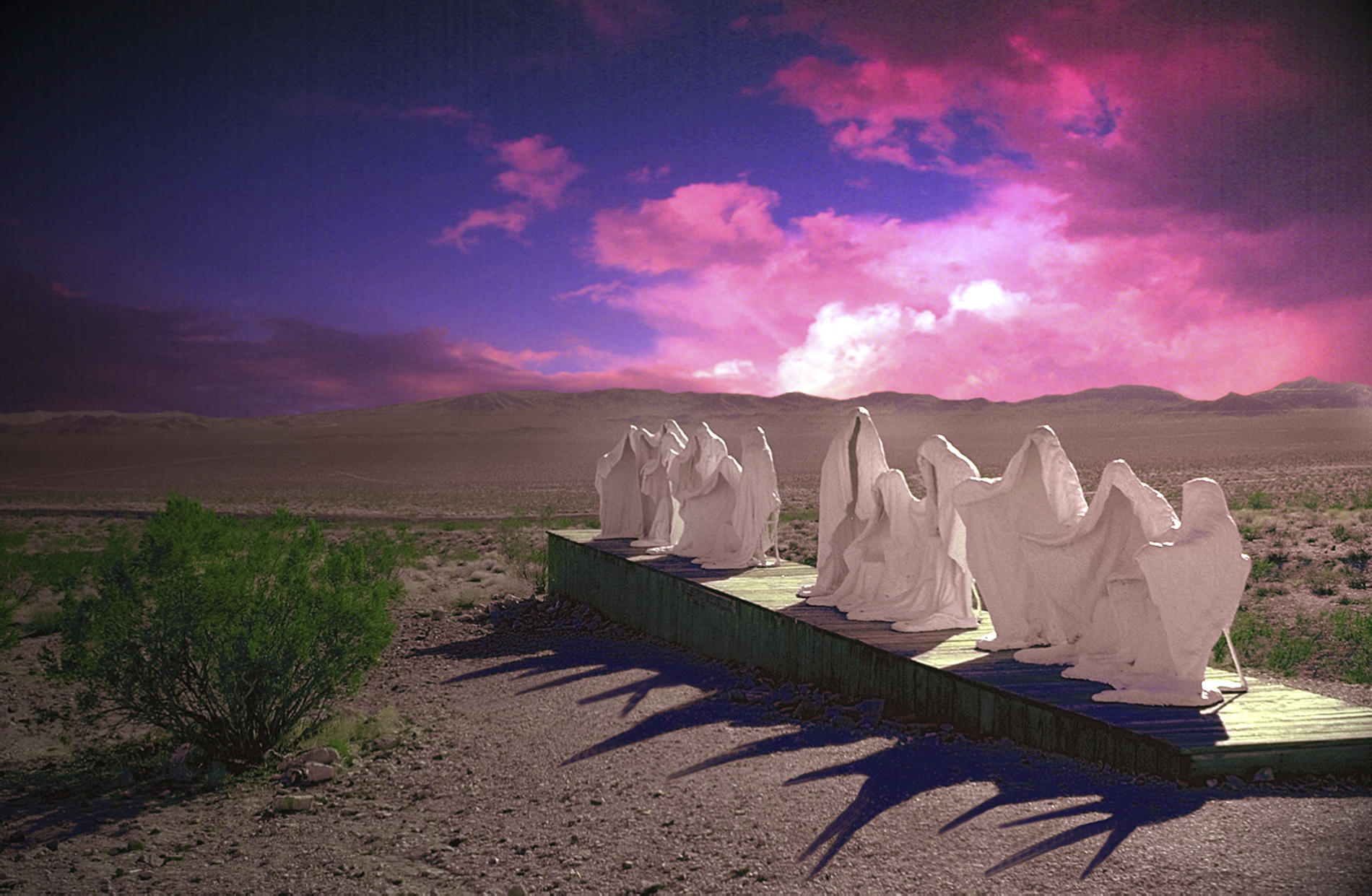 Ghosts of the Eastern Desert