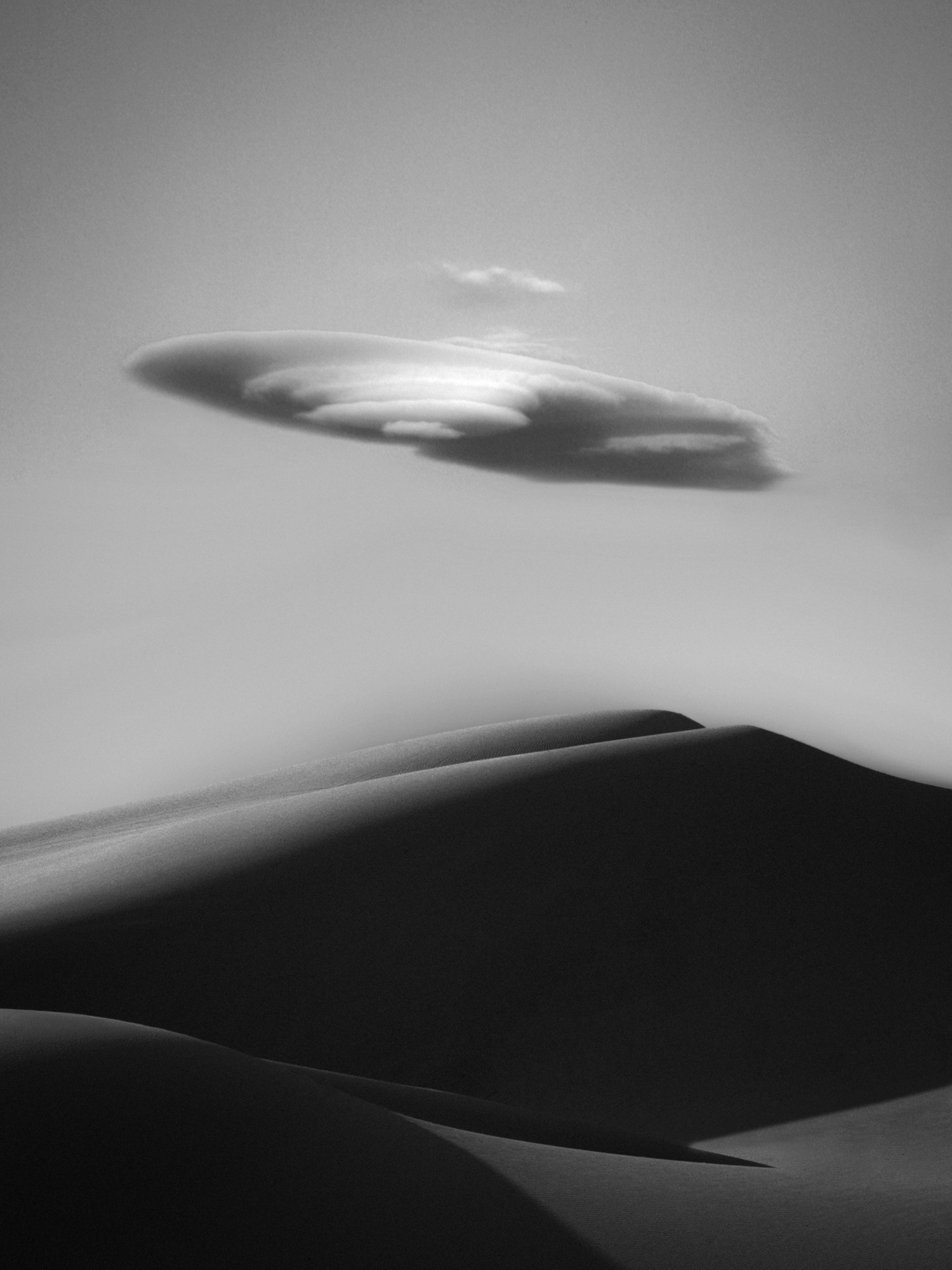Sand and Cloud - Brawley Dunes