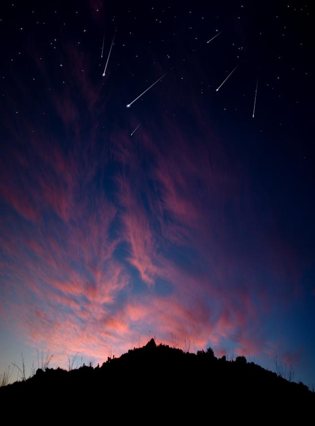 Fire In The Sky, Alabama Hills CA