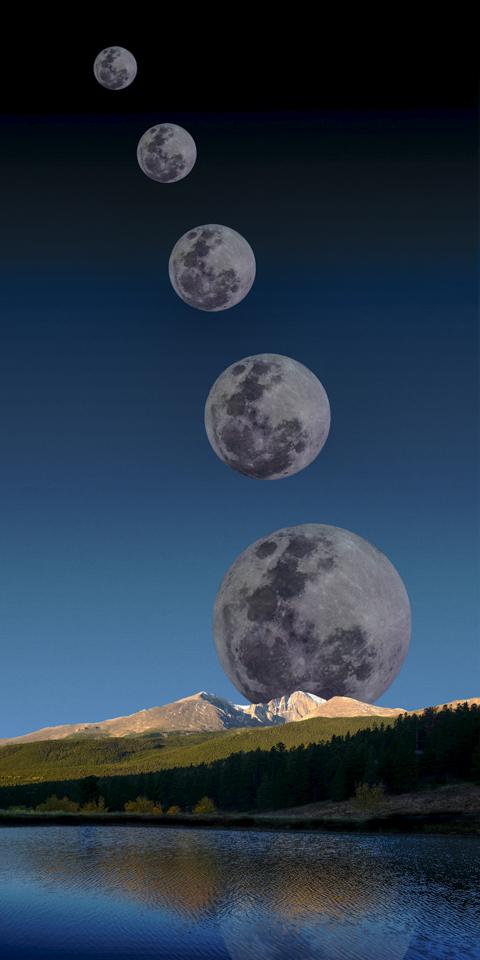 Moonrise Colorado