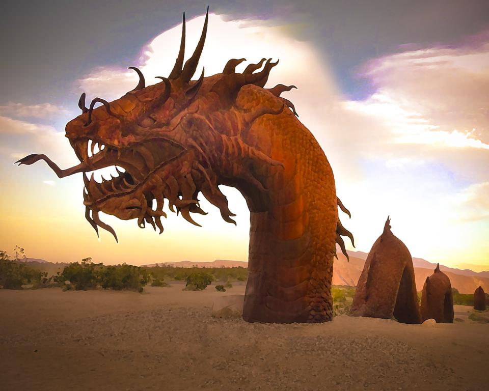 Dragons in Borrego