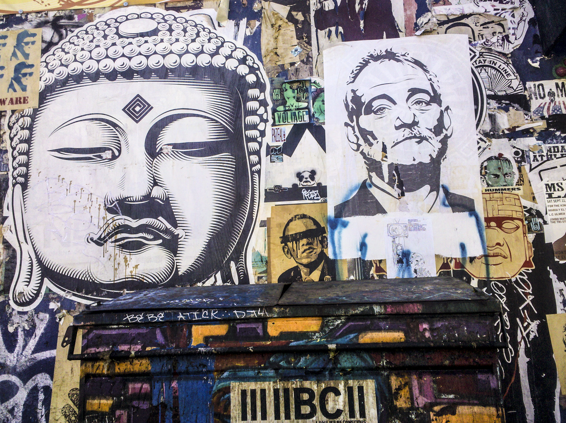 Buddha Barack and Bill