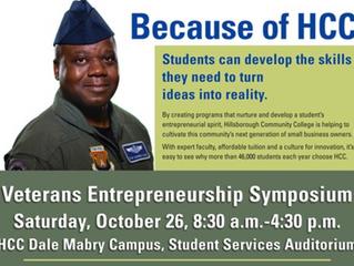 Hillsborough Community College to Host Veterans Entrepreneurship Symposium