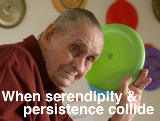 Serendipity & Persistence: How a Vetrepreneur brought happiness to millions