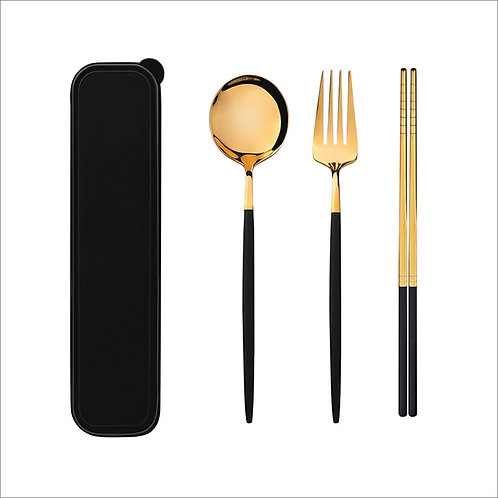 Stainless Steel Cutlery Knife Fork Spoon  Set With Box