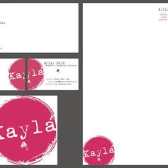 Kayla - Logo + Stationery