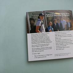 Cornish College - Performing Arts brochure