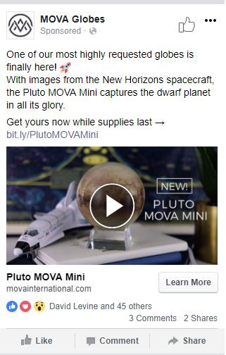 Pluto is now available