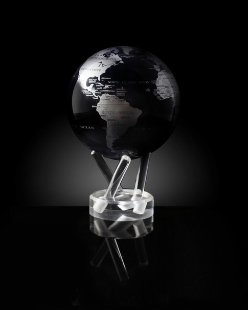 Black and Silver MOVA Globes