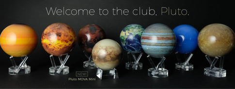 Welcome to the Club, Pluto