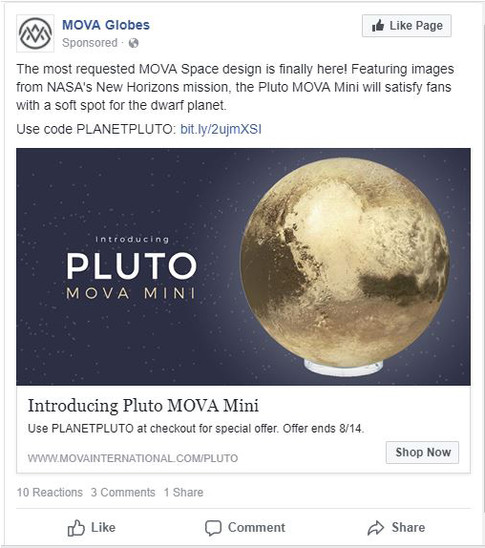Pluto Remarketing