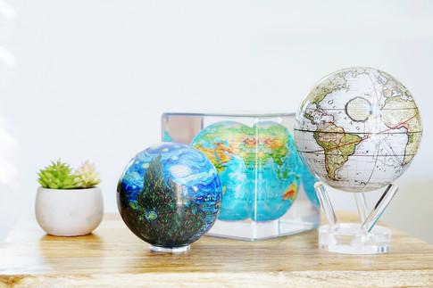 MOVA Globe, Cube, and Mini