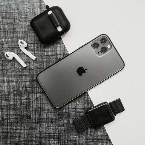 Phone Flat Lay