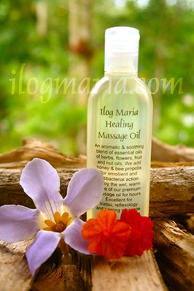 Healing massage oil in Floral