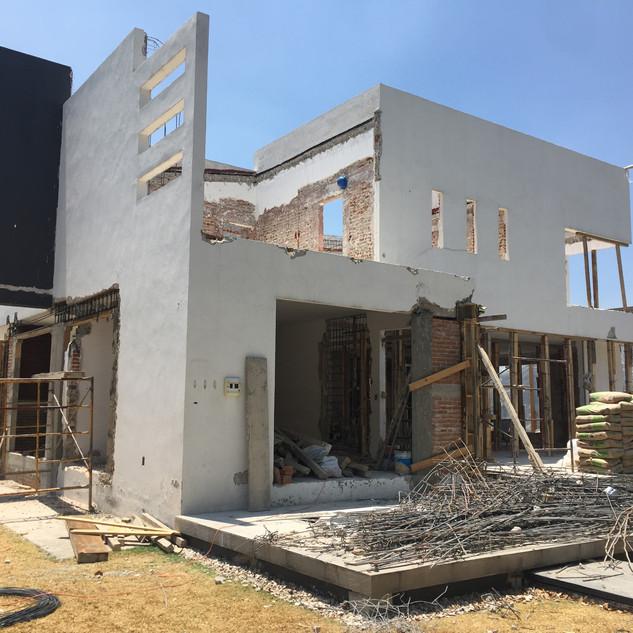 Demolición de obra