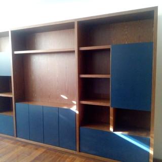 mueble tv construcción