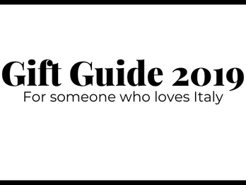 25 of the Best Gift Ideas for Your Italophile Friend, Kid, or Baby for 2019