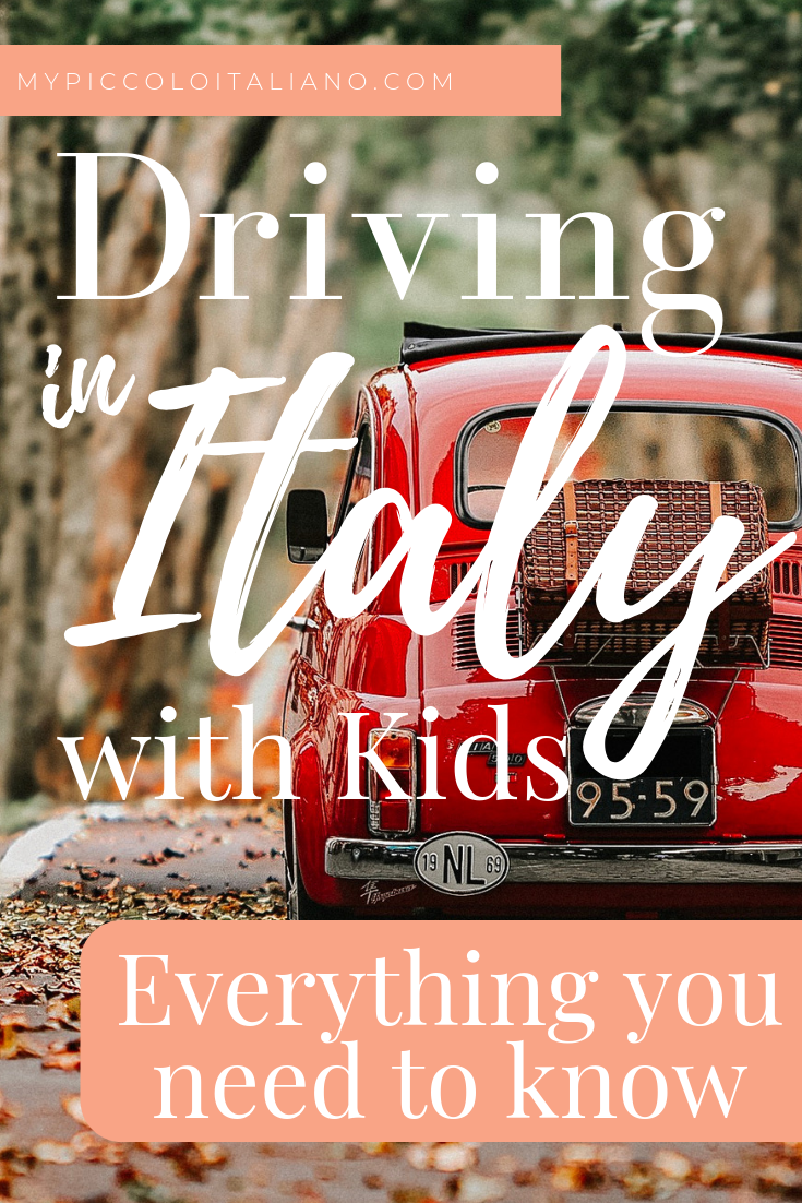 Driving in Italy with Kids