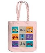 Italian Vespa Tote Bag