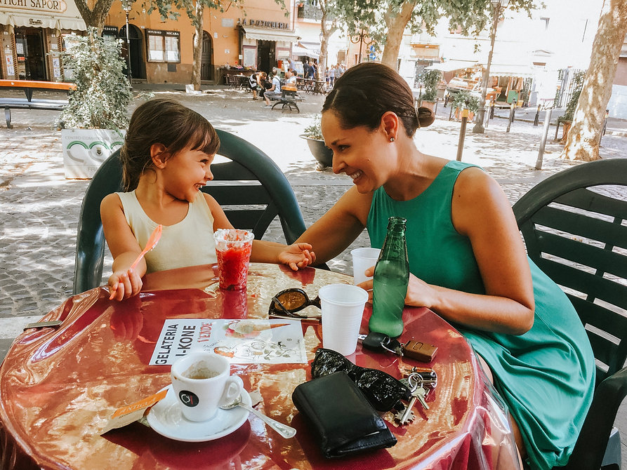 Mom & Daughter in Italy