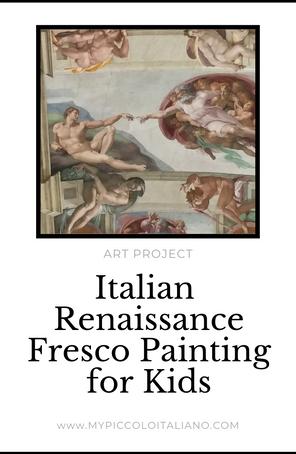 Italian Renaissance Fresco Painting For Children