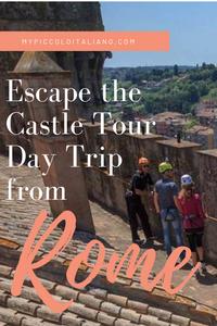 Day trip from Rome, Bracciano, Italy