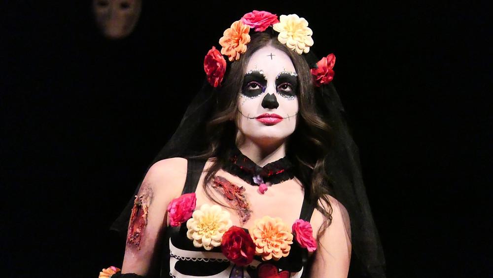 Miss Strega contest at the Festa delle Streghe in Italy