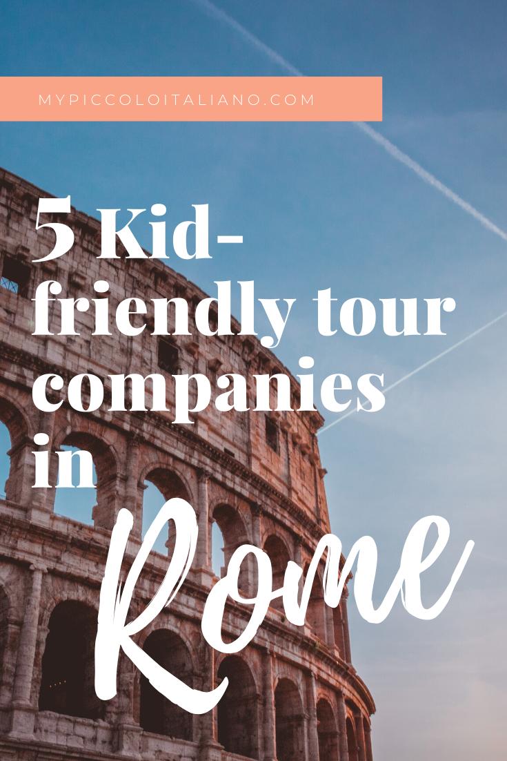 Kid-Friendly Tour Companies in Rome