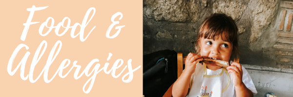 Important Italian phrases with traveling with kids: food and allergies