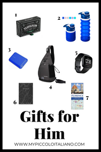 Gifts for Him: For a man traveling to Italyl