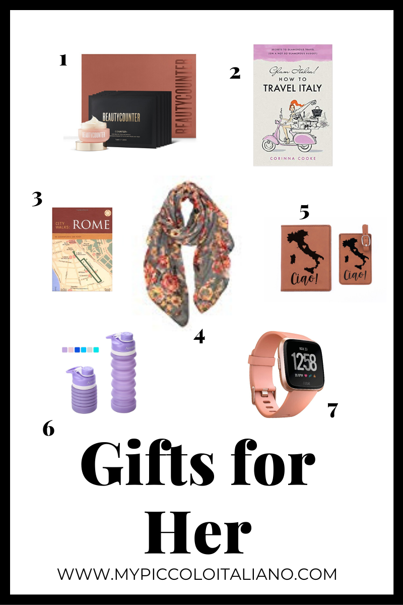Gift for Her: For a women traveling to Italy