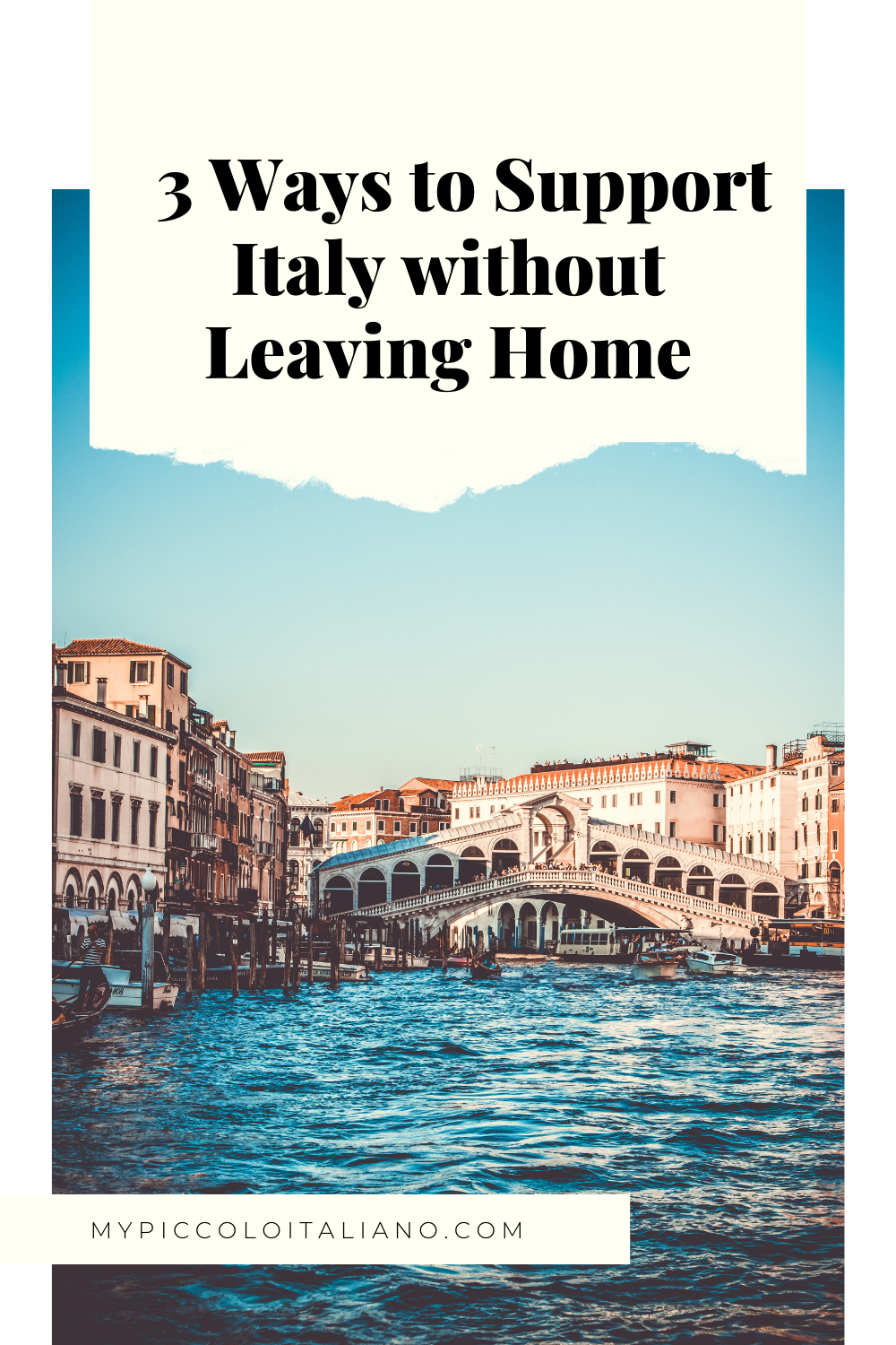 Italy with Kids Travel Blogger
