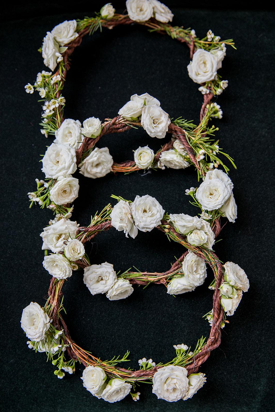 Flower Girl Halos