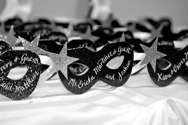Private parties masquerade masks