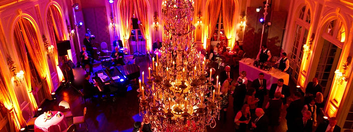 Private Party focused on lighting and chandelier