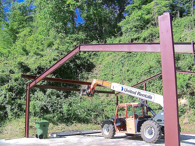 steel-framing-building-asheville