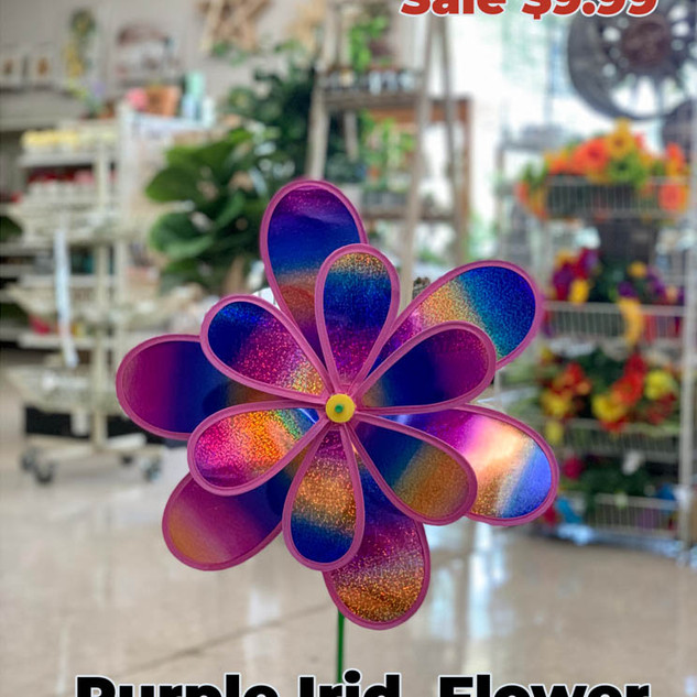 Purple Irid Flower Wind Spinner.JPG