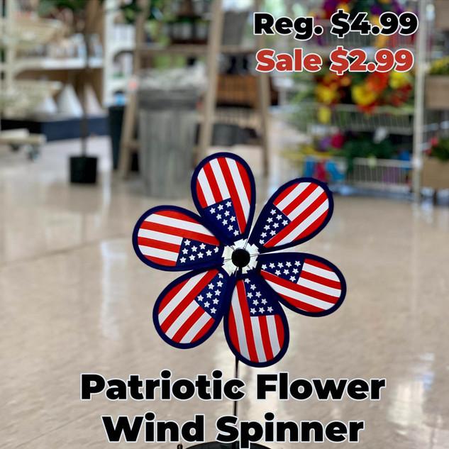 Patriotic Flower Wind Spinner.JPG